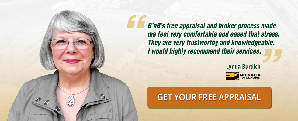 Lynda Burdick of Driver's Village finds B'nB trustworthy and knowledgeable.